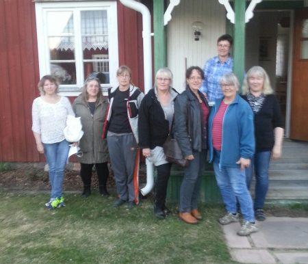 Från vänster Kerstin Nordström, Ingrid Hedlund-Johansson (valbered.)Helen Lindqvist, Cathrin Lindgren, Lena Gustafsson, Monika Hansson Sirkku Heiskanen och Anette Sjölin.