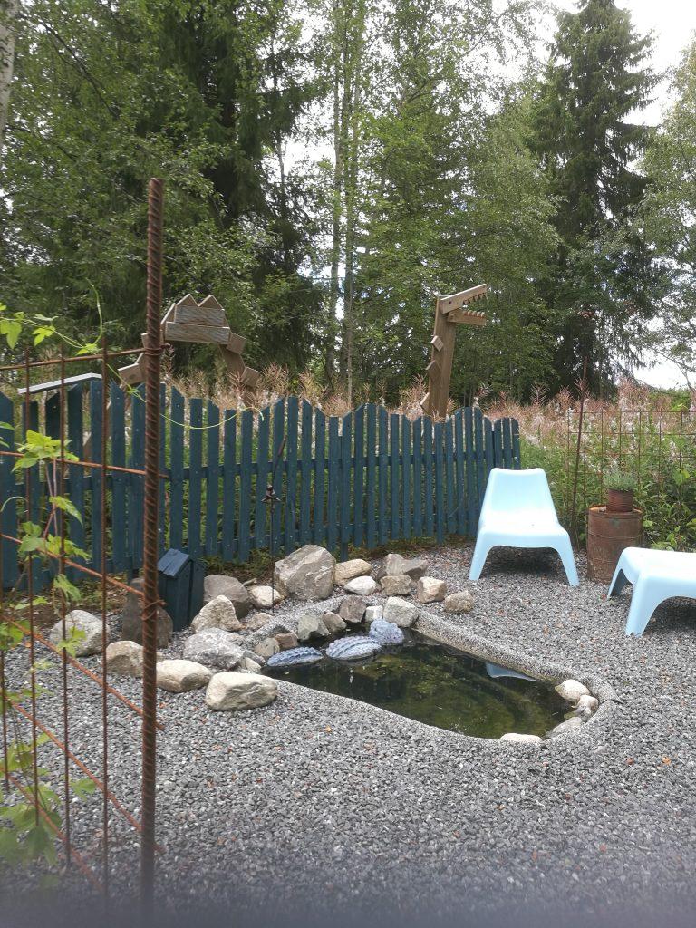 getter i trädgården